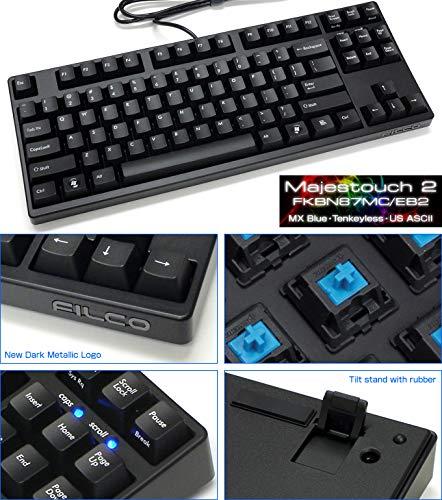 FILCO Majestouch-2, Tenkeyless, Key Rollover, Click Action, USA Tastatur fkbn87mc/EB2