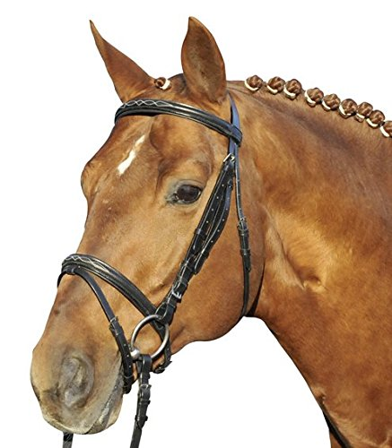 HKM Reittrense -Jana-, schwarz, Pony
