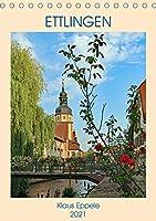 ETTLINGEN (Tischkalender 2021 DIN A5 hoch): Ein sommerlicher Rundgang durch die schoene Stadt Ettlingen (Monatskalender, 14 Seiten )