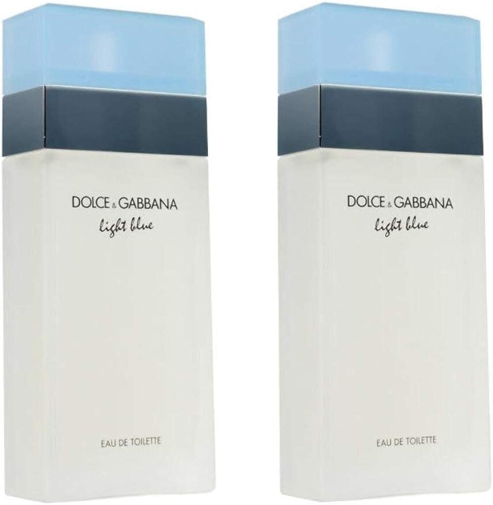 Dolce & gabbana light blue edt 2x50 ml set eau de toilette da donna 32005
