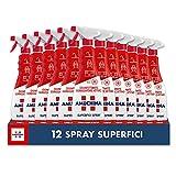 Amuchina Superfici Spray Disinfettante, 12 Flaconi da 750 ML