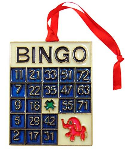 Bingo Ornament Christmas Tree Decoration Keepsake