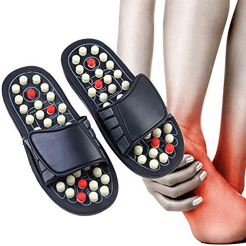 Fussreflexzonenmassage Massage Hausschuhe,Reflexzonen Sandalen Acupressure, Akupressur Massage Gesundheit Hausschuhe Sandalen Schuhe ,Fußmassage Akupunktur Gesundheitspflege Massage Schuhe