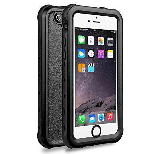 HICASER iPhone 5 / 5s / SE Custodia Impermeabile Antipolvere, Anti Neve, Anti Urti, Antiurto Protettiva Custodia per iPhone 5 / 5s / SE Heavy Duty Back Cover Case Nero