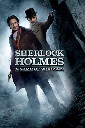 ELITEPRINT Guy Ritchie Films Sherlock Holmes A Game of Shadows - Tarjeta de Arte (250 g/m², Acabado Brillante)