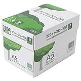 APP 高白色 ホワイトコピー用紙 A5 白色度93% 紙厚0.09mm 5000枚(500枚×10冊)