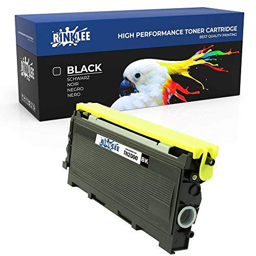 RINKLEE TN2000 Cartuccia Toner Compatibile per Brother DCP7010 DCP7020 DCP7025 HL2030 2032 HL2040 HL2050 HL2070 FAX2820 FAX2920 MFC7225N MFC7420 MFC78
