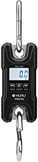 Mini Crane Scale,Klau Portable 500 kg / 1000 lb Heavy Duty Digital Hanging Scales LCD Display with Backlight for Home Farm Market Fishing Hunting Black
