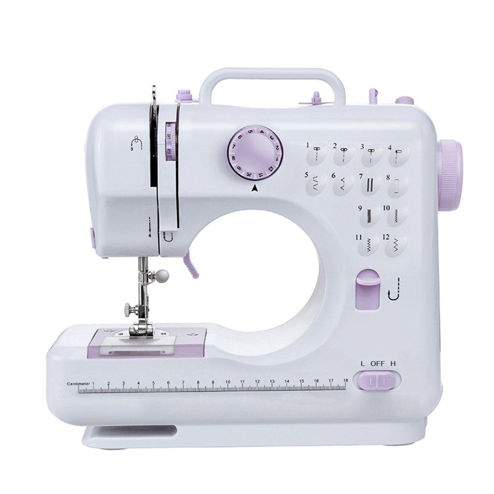 Fanghua 505A - Máquina de coser multifunción (12 puntadas ...