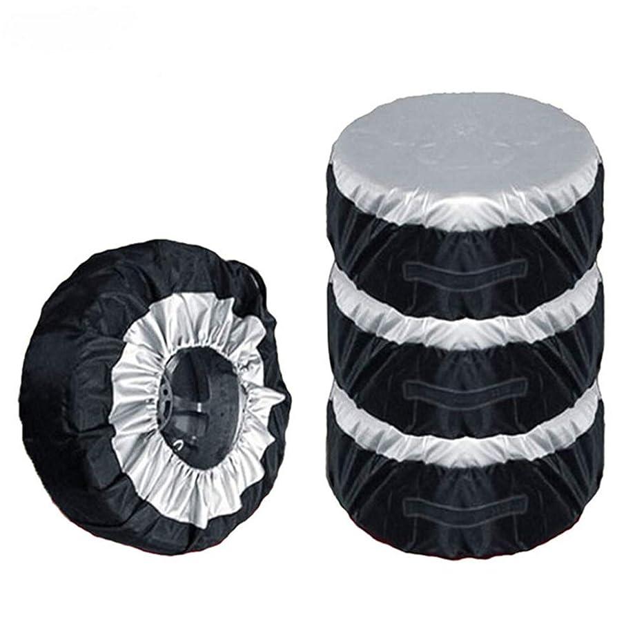 NCElec Spare Tire Cover for Trailers SUV RV Car Jeep Wheel Cover (M / 85X37CM)