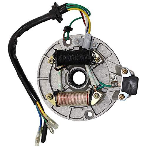 Magneto stator ignition coil scooter compatible for 70cc 90cc 110cc 125cc Taotao Kazuma SSR Baja ATV Quad Dirt Kick Bike 4 Wheeler