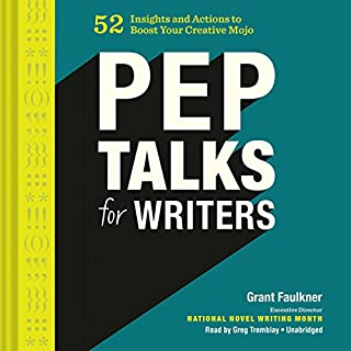 Pep Talks for Writers cover art