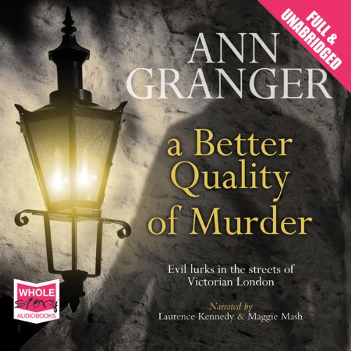 A Better Quality of Murder audiobook cover art
