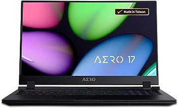 "$1799 Get AERO 17 SA-7US1130SO 17.3"" Thin Bezel 144Hz FHD, i7-9750H, NVIDIA GeForce GTX 1660 Ti GDDR6 6GB, Samsung 16GB DDR4 2666MHz RAM, PCIe 512GB SSD, Windows 10 Home+Office 365, RGB KB, Ultra Slim Laptop"