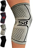 Best Compression Knee Sleeves - SB SOX Compression Knee Brace for Knee Pain Review