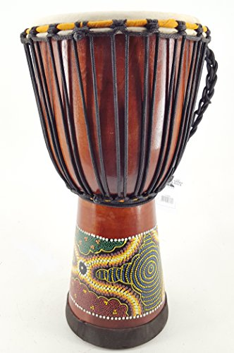 50cm Profi Djembe Trommel Bongo Super Klang (100% wird garantiert das der Klang gut ist)