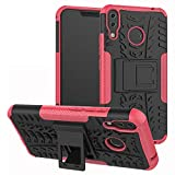 Labanema Zenfone 5Z ZS620KL Hülle, Abdeckung Cover schutzhülle Tough Strong Rugged Shock Proof Heavy Duty Case Für Asus Zenfone 5Z ZS620KL (6.2 Zoll)-Rose Red