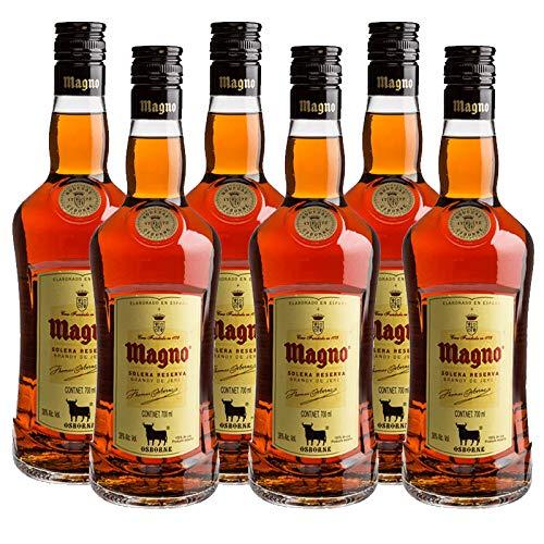 Brandy Magno de 70 cl - D.O. Jerez - Bodegas Osborne (Pack de 6 botellas)
