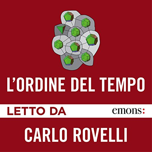 L'ordine del tempo audiobook cover art