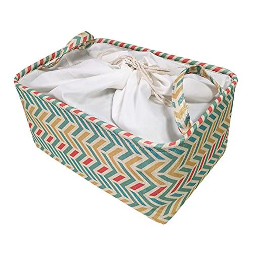Bomoya Caja de almacenamiento Cancanvas para ropa de juguete, caja de almacenamiento con marco de acero de tela, ropa, sábanas, mantas, almohadas, zapatero, contenedor, organizador