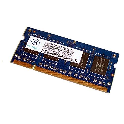 512MB RAM PC portátil SODIMM Nanya nt512t64uh8a0fn-37b DDR2PC2–4200S 533MHz CL4
