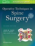 Operative Techniques in Spine Surgery