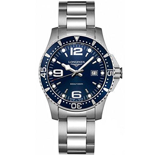 Longines L36404966 - Reloj de Cuarzo para Hombre, con Correa de Acero