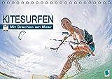 Kitesurfen: Mit Drachen am Meer (Tischkalender 2020 DIN A5 quer): Kitesurfen: Auf den Wellen fliegen (Monatskalender, 14 Seiten ) (CALVENDO Sport) - CALVENDO