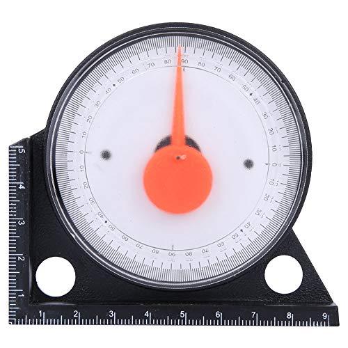Inclinómetro de pendiente, buscador de ángulo, inclinómetro de pendiente de plástico multifuncional, buscador de ángulo, medidor de nivel, herramienta de medición