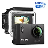 VTIN Action Kamera WIFI 2,0 Zoll, VTIN Full HD 1080P Sport Action Camera Cam Wasserdicht 170...