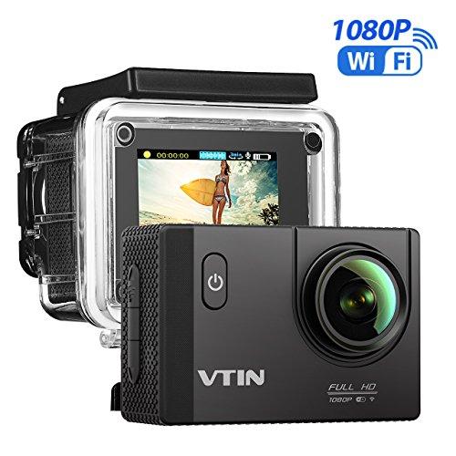 VTIN Action Kamera WIFI VTIN Full HD 1080P Sport Action Camera Cam Wasserdicht