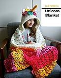 Unicorn hooded blanket crochet pattern (English Edition)