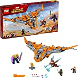 LEGO Marvel Super Heroes Avengers: Infinity War Thanos: Ultimate Battle 76107 Guardians of the Galaxy Starship Action Construction Toy (674 Pieces) (Discontinued by Manufacturer)