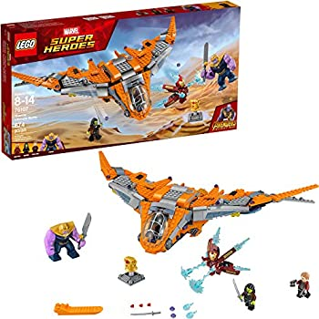 LEGO Marvel Super Heroes Avengers  Infinity War Thanos  Ultimate Battle 76107 Guardians of the Galaxy Starship Action Construction Toy  674 Pieces   Discontinued by Manufacturer
