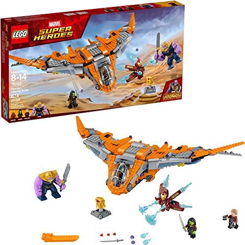 LEGO Marvel Super Heroes Avengers: Infinity War Thanos: Ultimate Battle 76107 Building Kit (674 Piece)