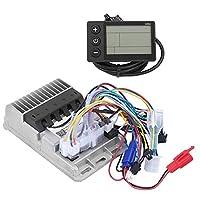 36/48V 500W 電動自転車スピードコントローラー 3モード制御 正弦波ブラシレスコントローラー LCDセット