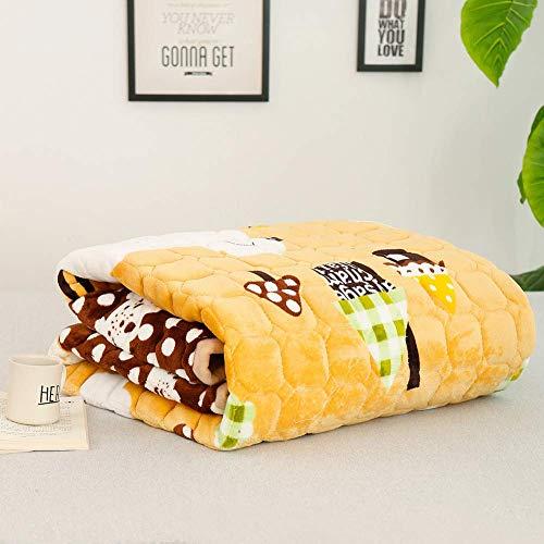 JY&WIN Japanische Tatami-Matratze, weiche Flanell-Matratzenauflage, atmungsaktive, warme, Faltbare Rollmatratze, rutschfest, leicht zu tragen und voll