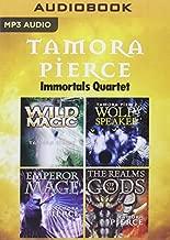 Tamora Pierce - Immortals Quartet: Wild Magic, Wolf-Speaker, Emperor Mage, The Realms of the Gods (The Immortals) by Tamora Pierce (2016-03-08)