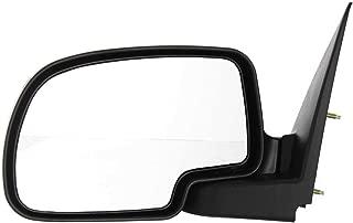 Kool Vue GM59L Chevy Silverado/Suburban Driver Side Mirror, Manual, Textured Black