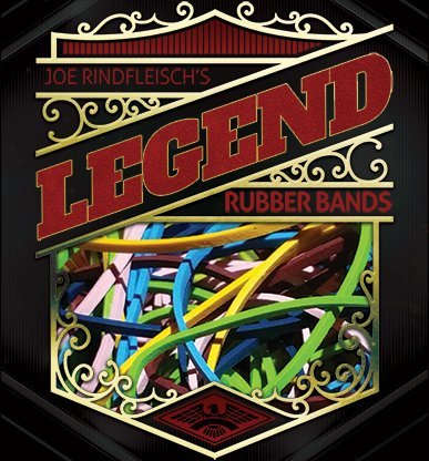 THE LORD OF THE MAGIC Joe Rindfleisch's Legend Bands: Michael Weber Dark Blue Bands - Trick , Truco de Magia