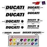 Pegatina Adhesivo Sticker ADESIVO AUFKLEBER Decals AUTOCOLLANTS Compatible con Ducati PERFORME Vinilo Troquelado Moto 5 a 7 años 12 Unidades 16 Colores Disponibles REF1