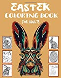 Easter Coloring Book For Adults: 100 pages - Adult Coloring...