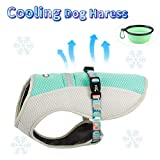 TUFF HOUND Dog Cooling Jacket Harness Outdoor Puppy Cooler Vest Reflective Safety Sun-Proof Pet Hunting Coat,Best for Large Dogs