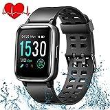 ONSON Smartwatch,Fitness Tracker Wasserdicht IP68 Fitness Armband Uhr für Damen Herren Kinder,...