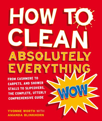 How to Clean Absolutely Everything: From cashmere to carpets, and shower stalls to slipcovers, the complete, utterly comprehensive guide (English Edition)