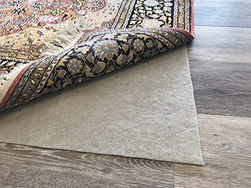 CARPETIA Anti-Slip Mat Non Slip Pad Carpet antiderapant Brun Größe 80x150 cm