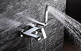 Fen latón baño ducha de agua fría y caliente Torneira baño mezclador grifo Set Torneira banheiro