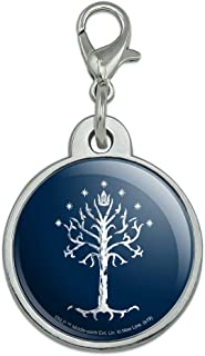 GRAPHICS /& MORE The Lord of The Rings Gandalf The White Character 1 Pendant with Sterling Silver Plated Chain