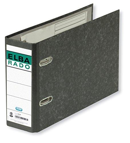 Elba Rado Clásico Jaspeado 100202209 - Archivador palanca forrado en papel jaspeado, A5 ⭐