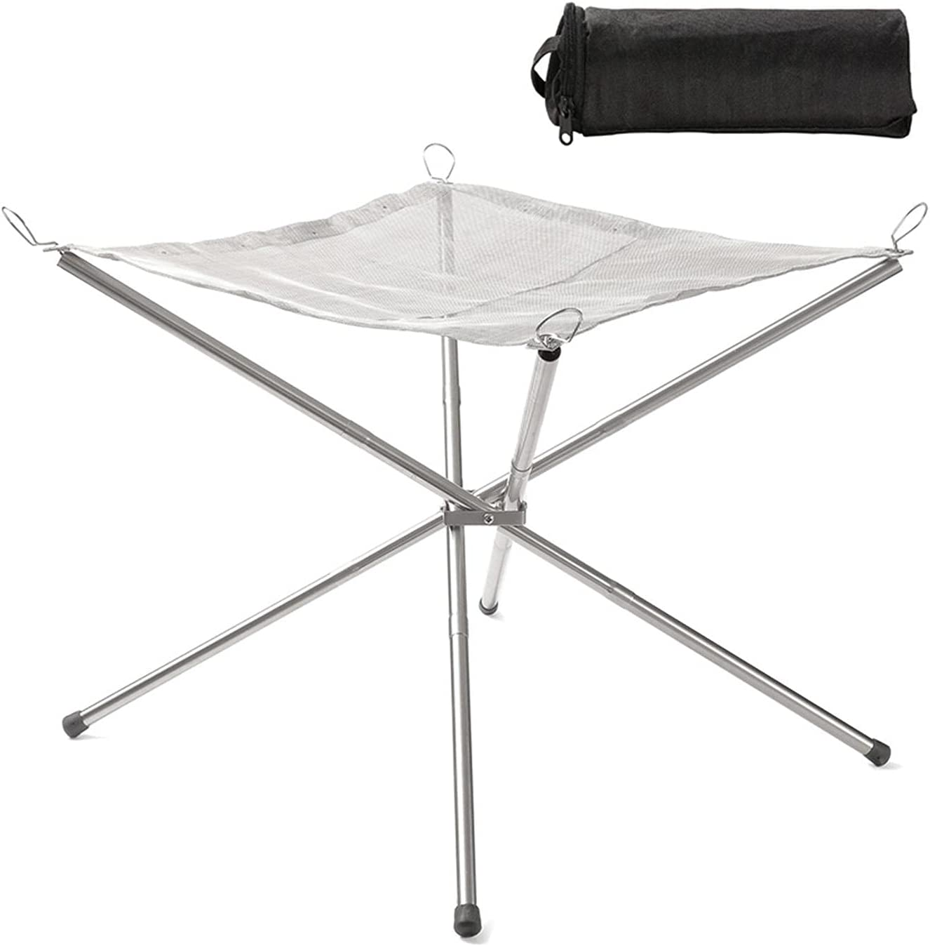 wujomeas Portable Outdoor National products Fire Pit Grill Import Outd - Folding Campfire